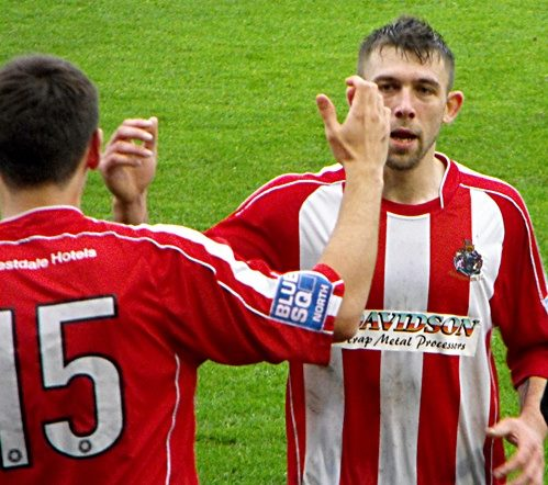 0d3592aac56 Damian has now hit 13 goals in 12 league matches this season. Alty s last  league hat-trick was ...